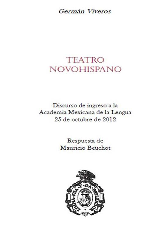 Teatro novohispano