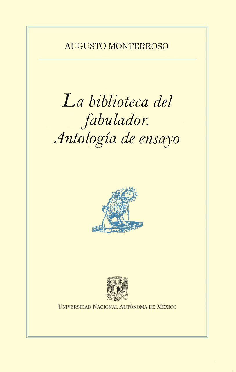 La biblioteca del fabulador. Antología de ensayo