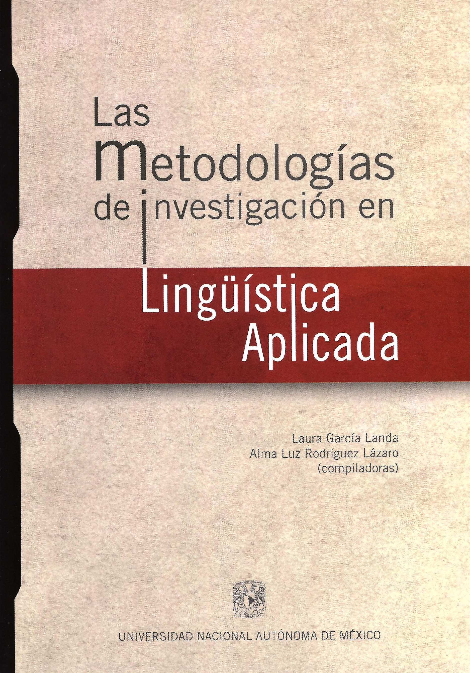 Las metodologías de investigación en lingüística aplicada