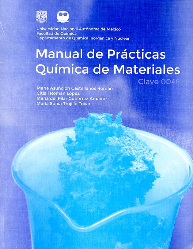 Manual de prácticas química de materiales