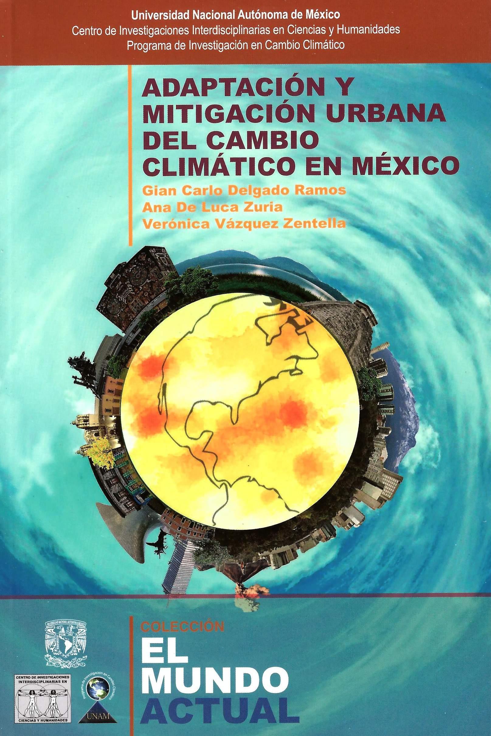 Adaptación y mitigación urbana del cambio climático en México