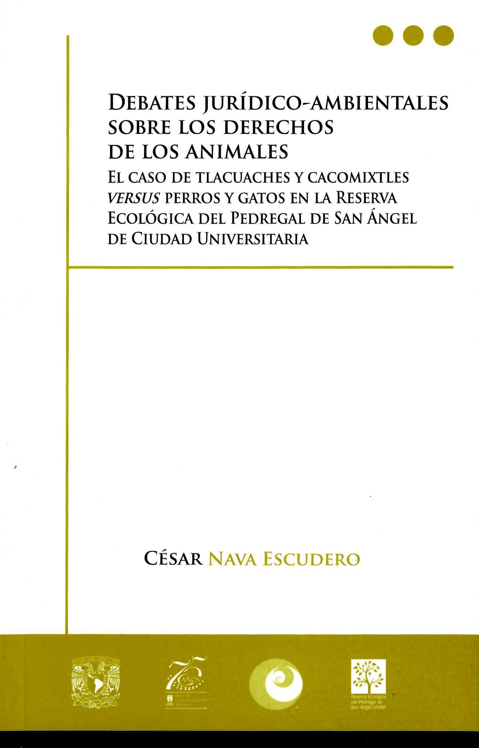 Debates jurídico-ambientales sobre los derechos de los animales.