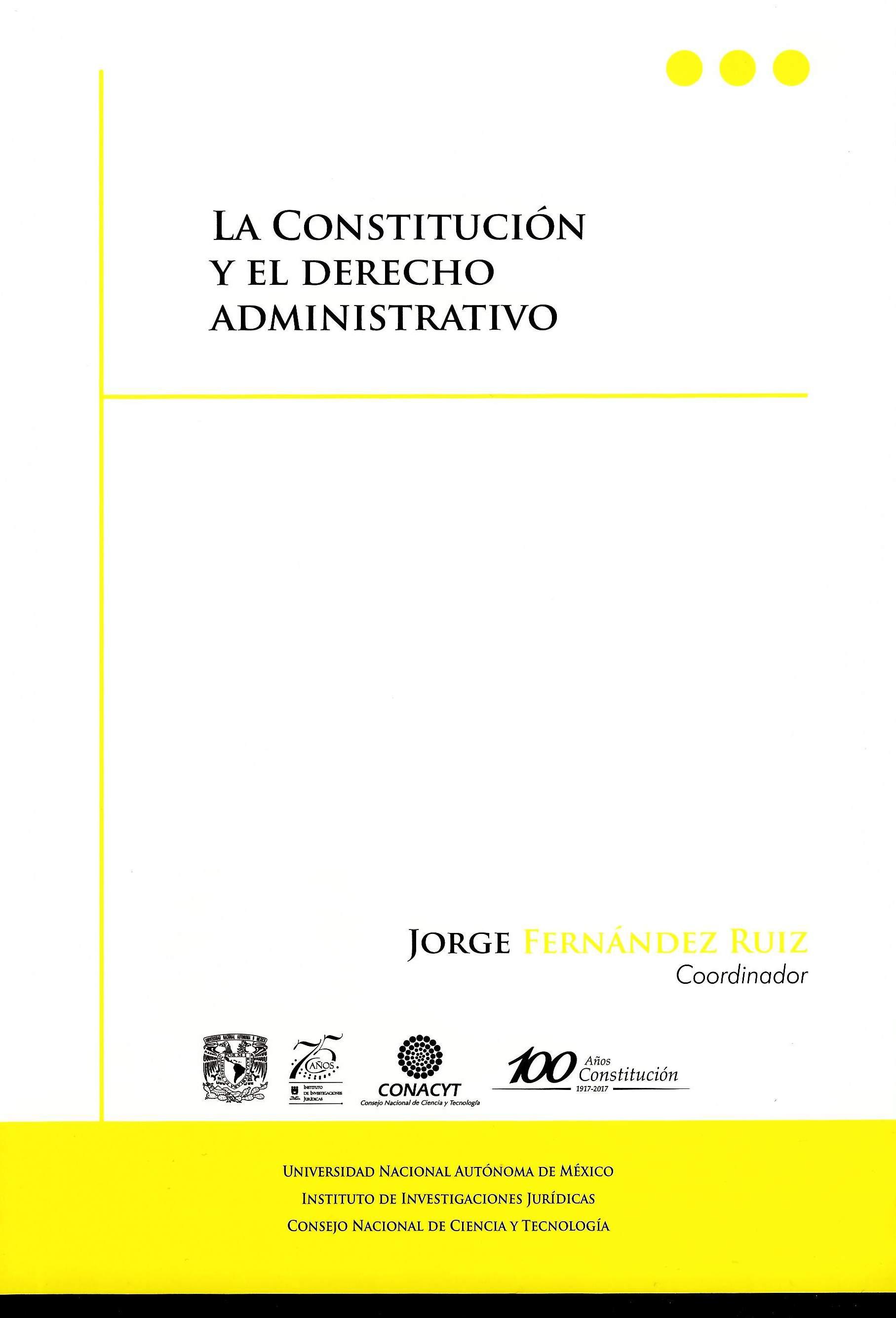La Constitución y el derecho administrativo