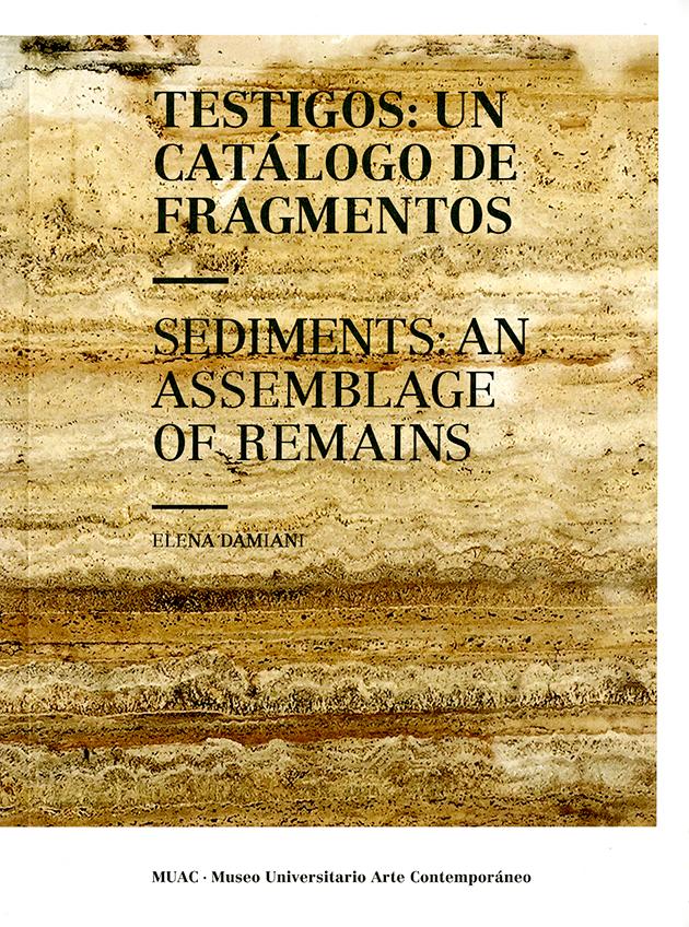 Testigos: Un catálogo de fragmentos - Sediments: and assemblaje of remains