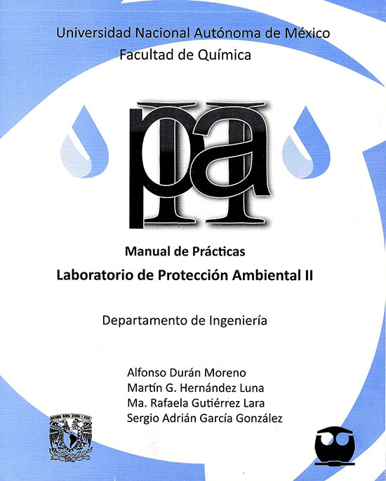 Manual de Prácticas. Laboratorio de Protección Ambiental II.