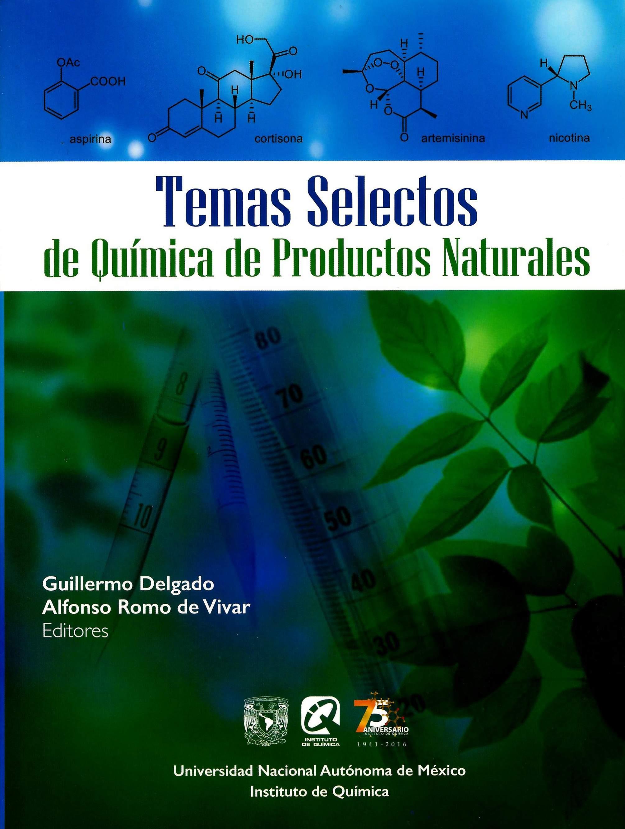 Temas selectos de química de productos naturales