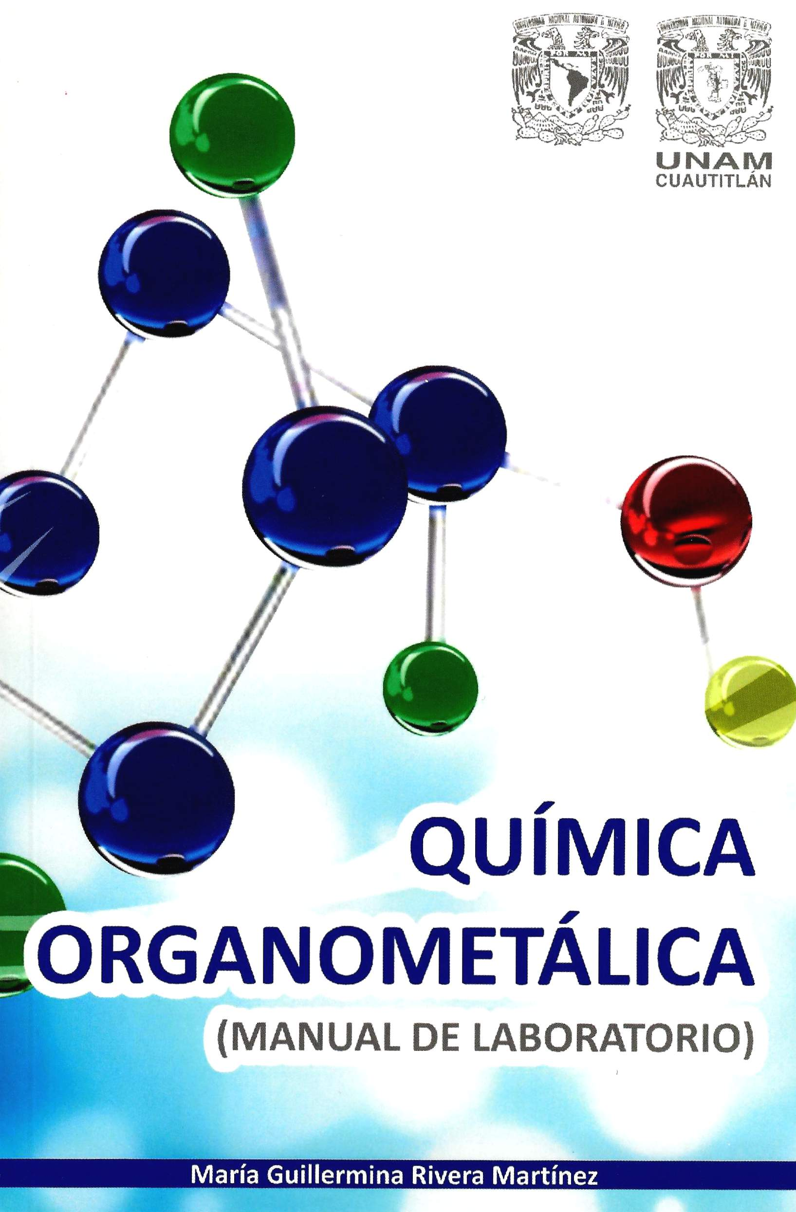 Química organometálica (manual de laboratorio)