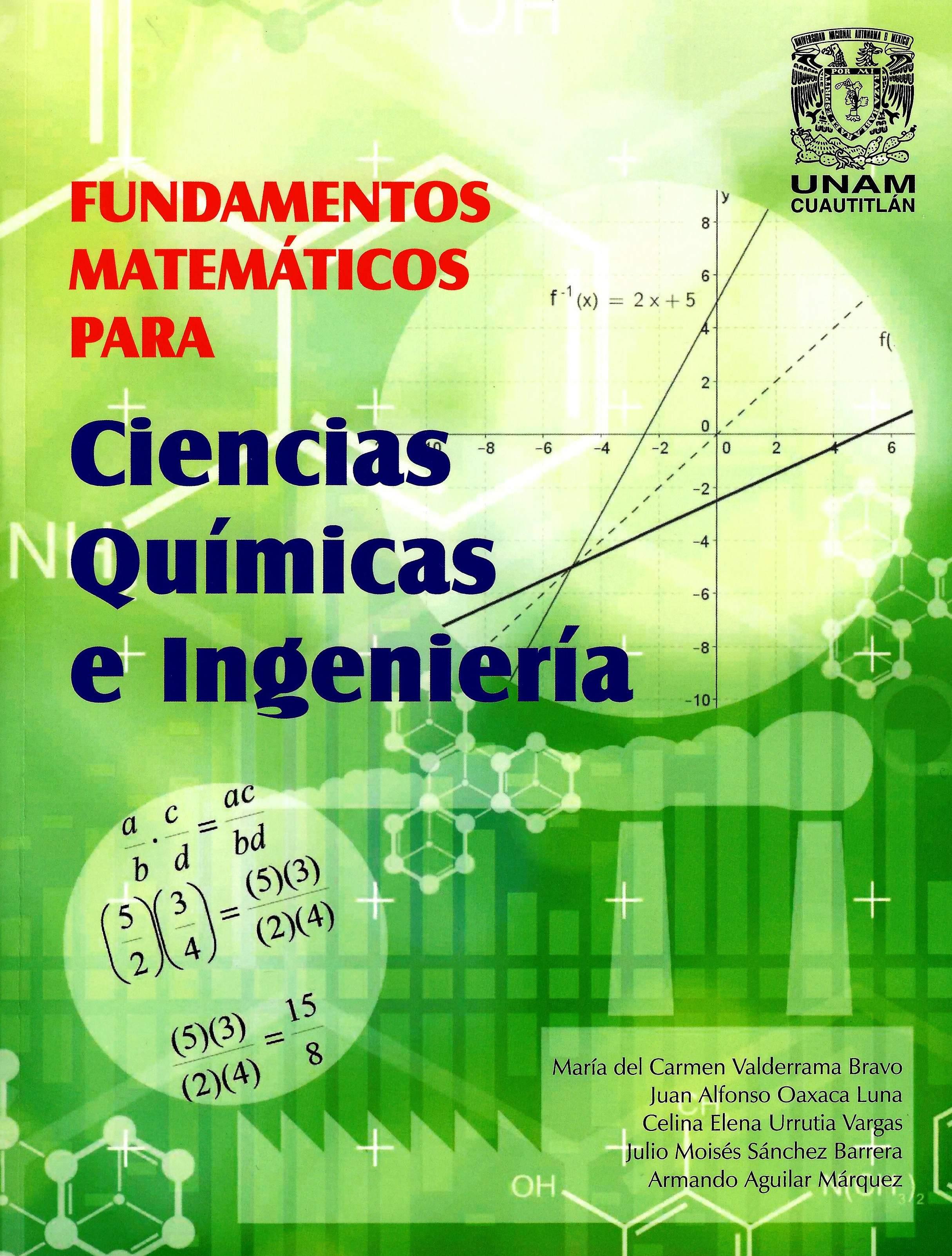 Fundamentos matemáticos para ciencias químicas e ingeniería