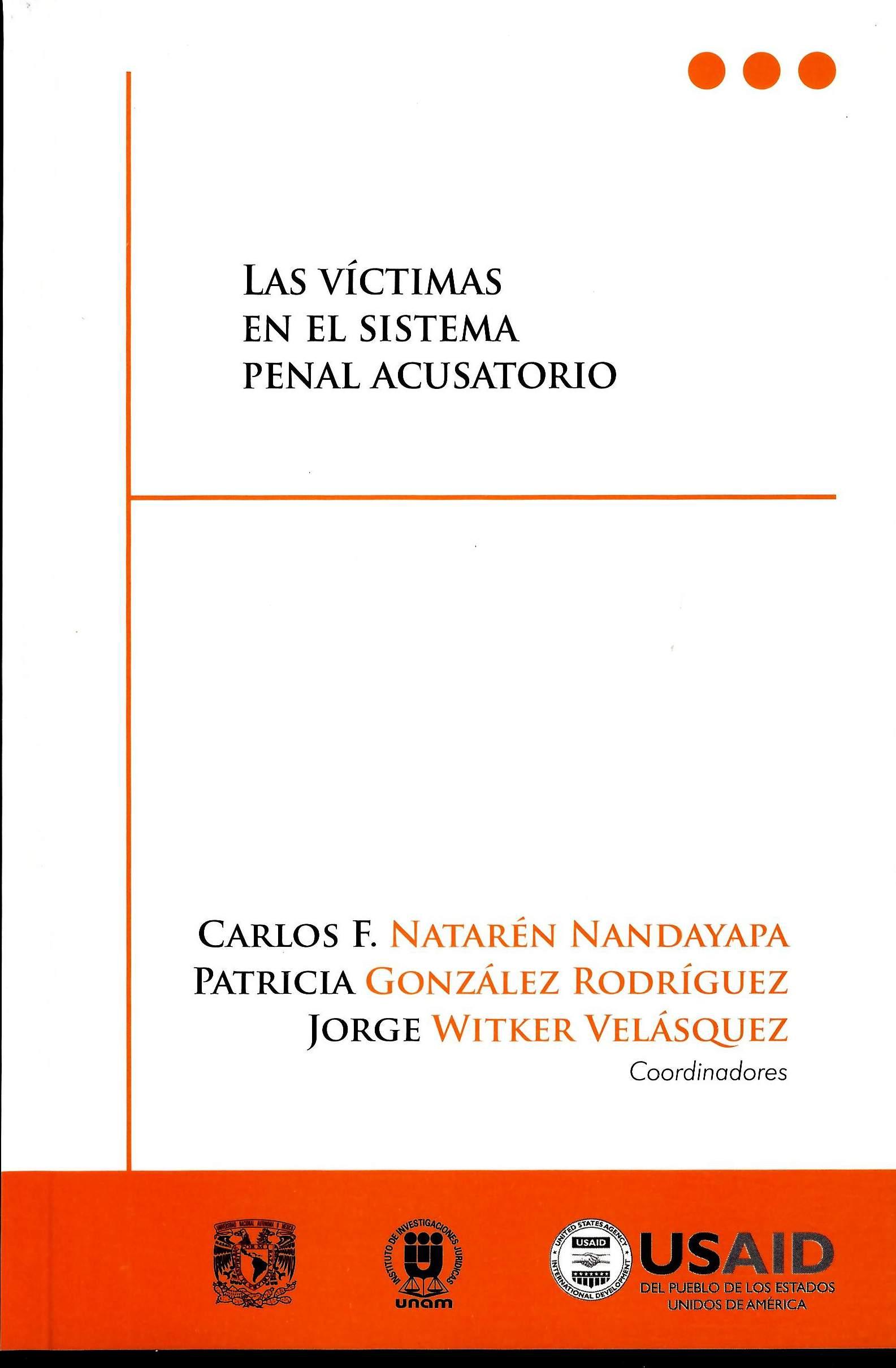 Las víctimas en el sistema penal acusatorio