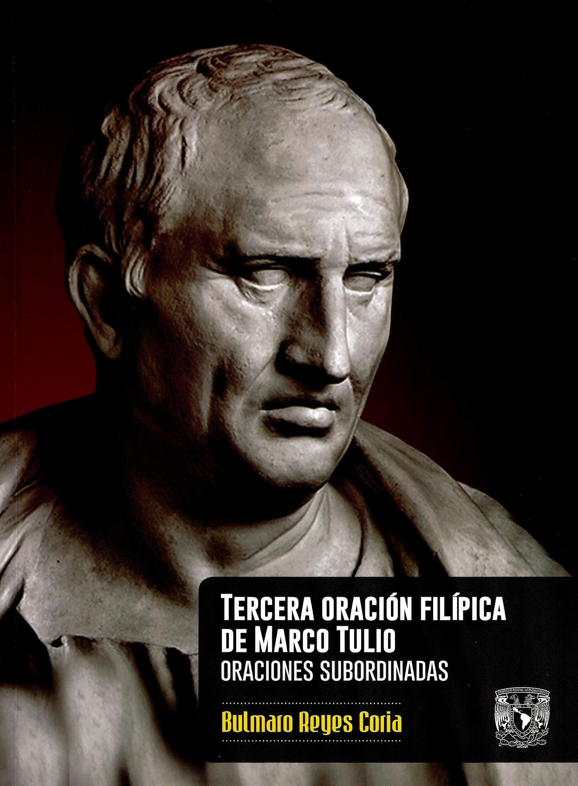 Tercera oración filípica de Marco Tulio. Oraciones subordinadas
