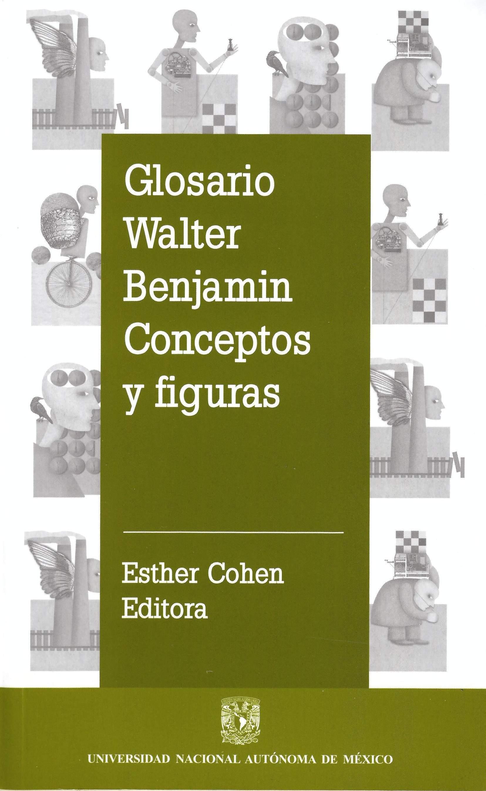 Glosario Walter Benjamin Conceptos y Figuras