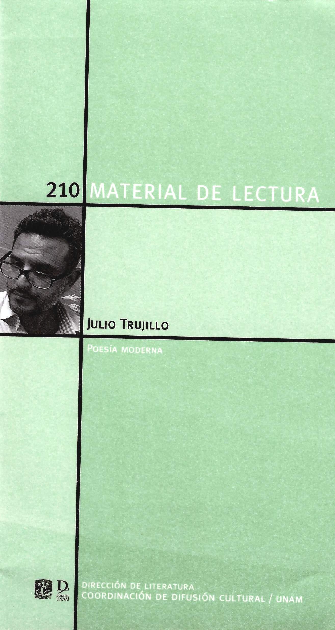 Julio Trujillo. Poesía moderna 210