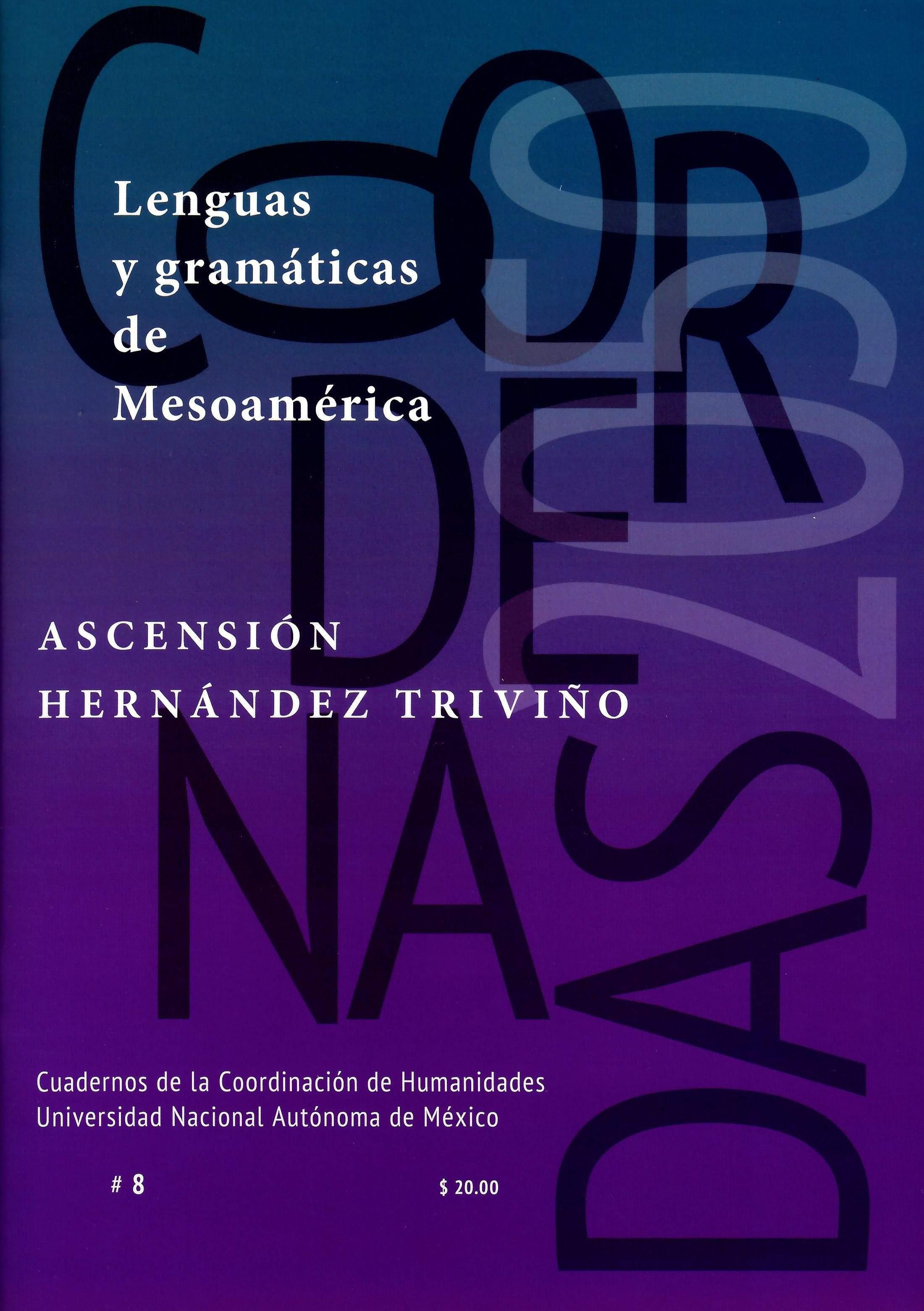 Lenguas y gramáticas de Mesoamérica