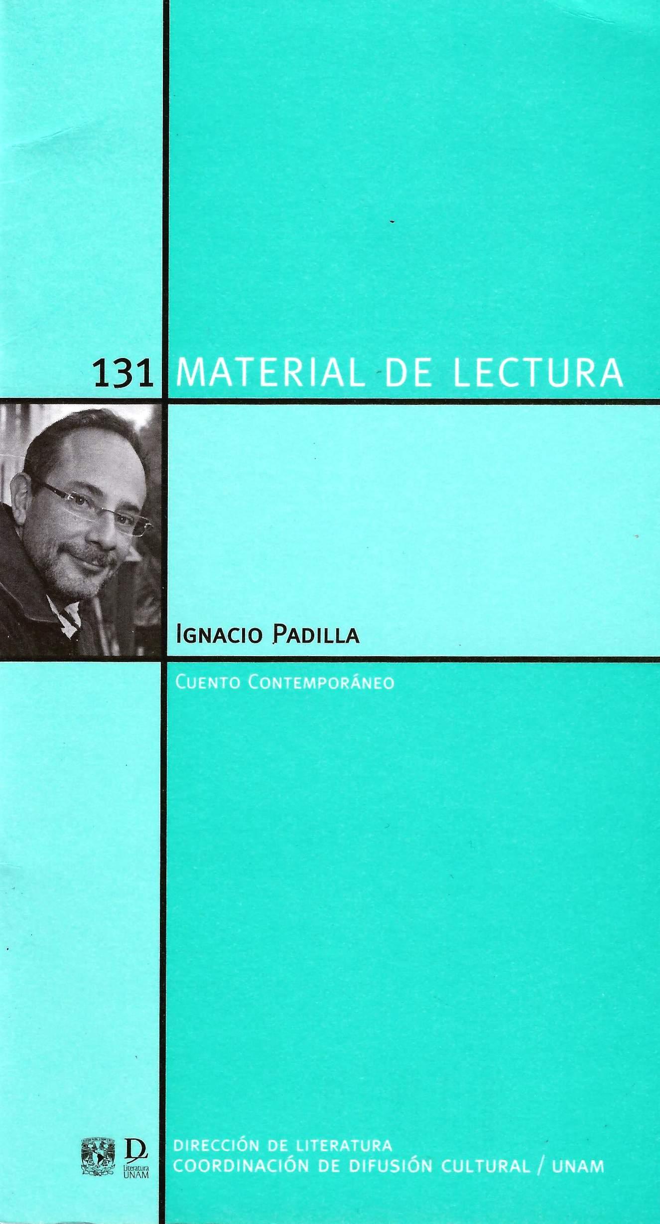 Ignacio Padilla. Cuento contemporáneo