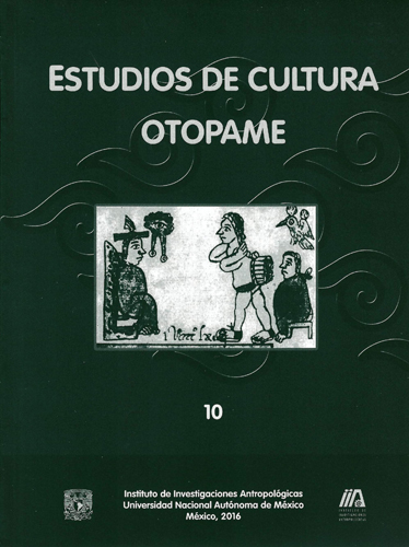 Estudios de cultura otopame, 10
