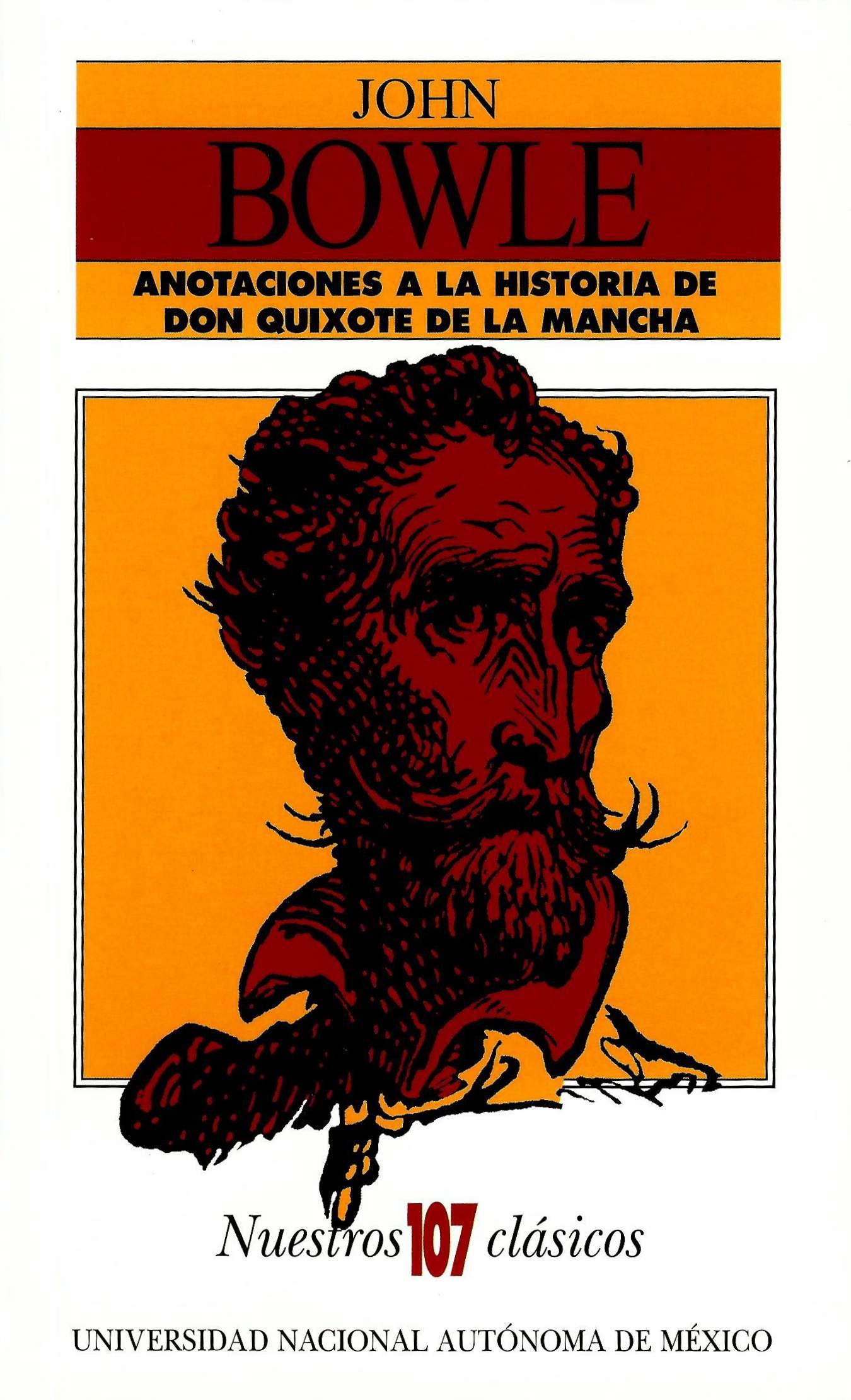 Anotaciones a la historia de don Quixote de la Mancha