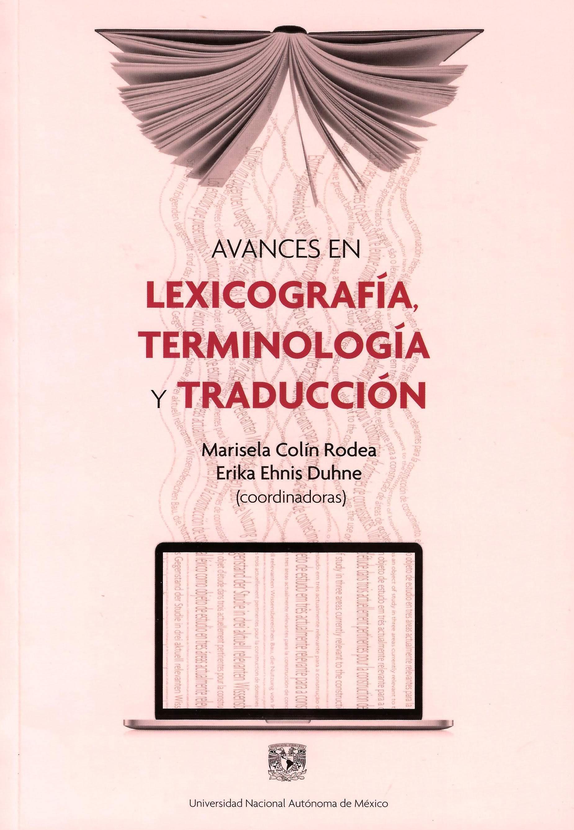 Avances en lexicografía, terminología y traducción