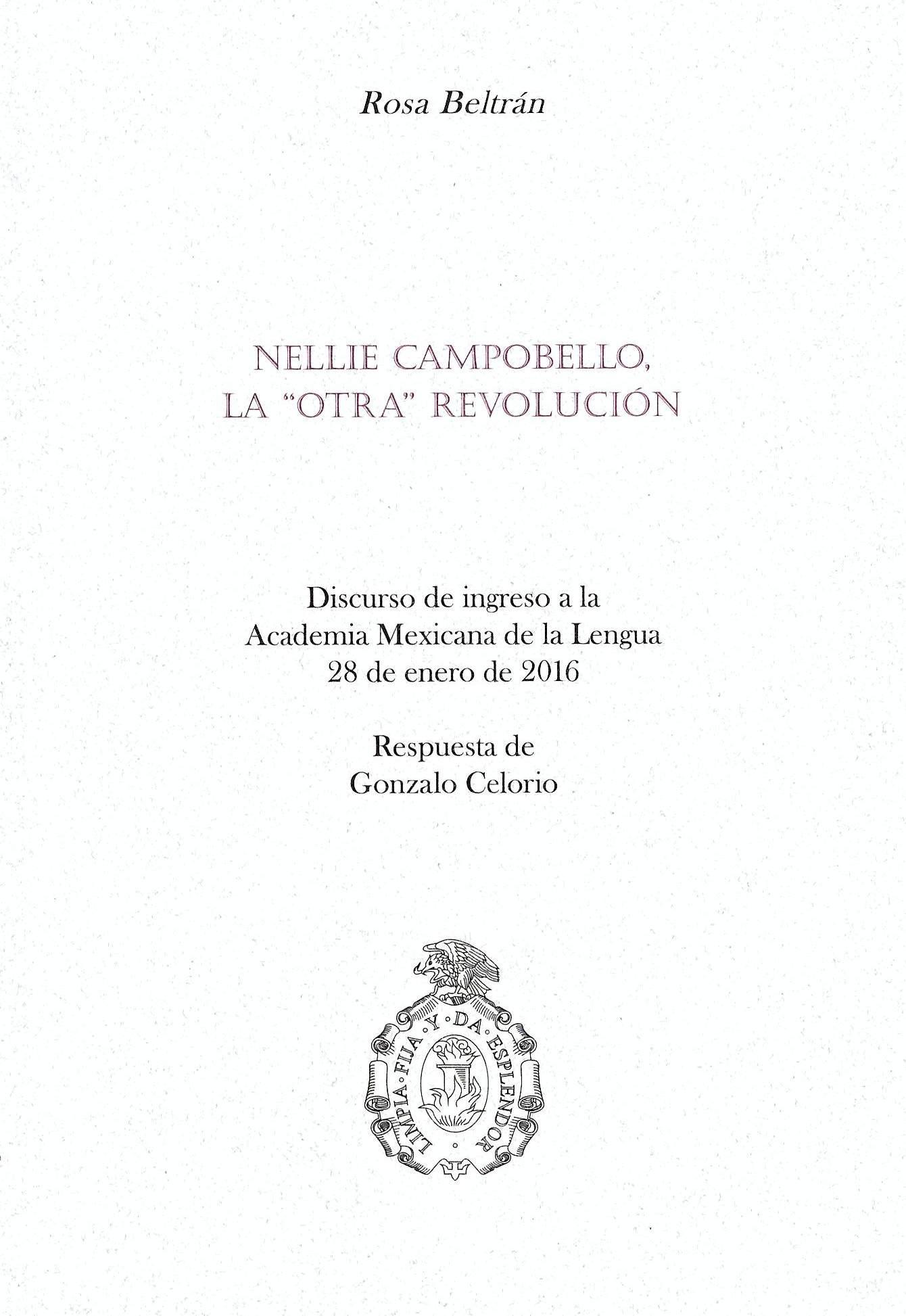 """Nellie Campobello, la """"otra"""" Revolución"""