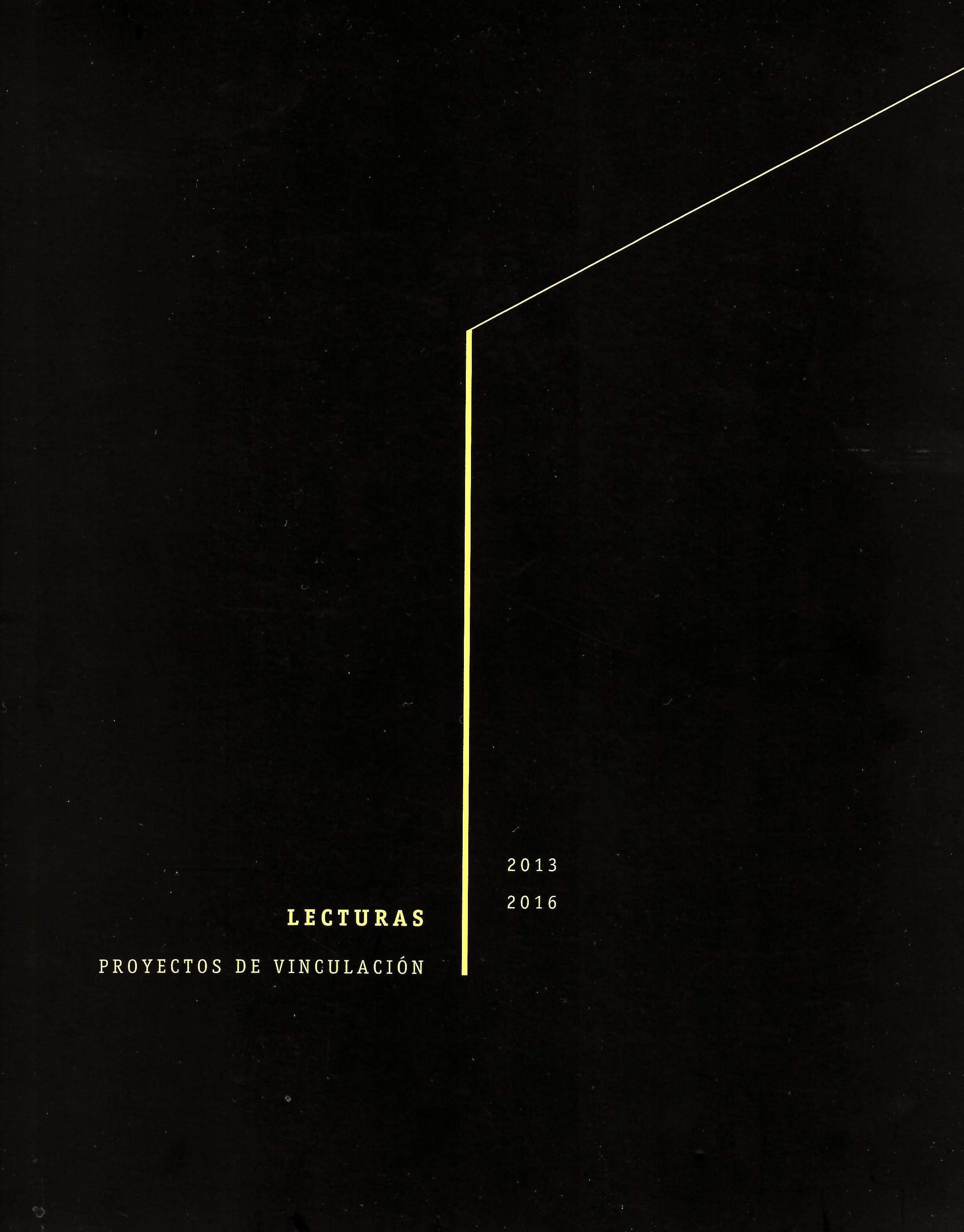 Lecturas Proyectos de vinculación 2013-2016