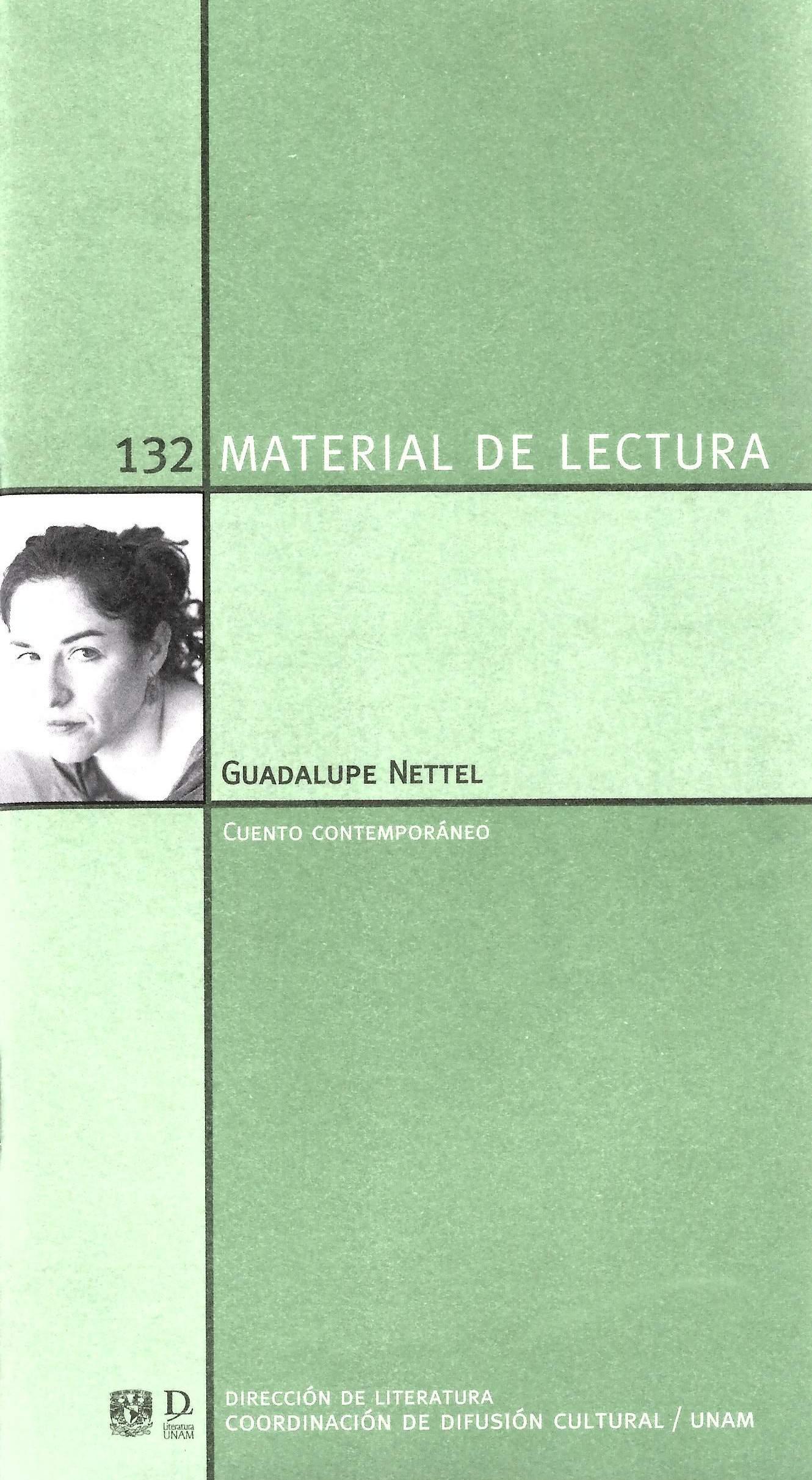 Guadalupe Nettel. Cuento contemporáneo. Material de lectura