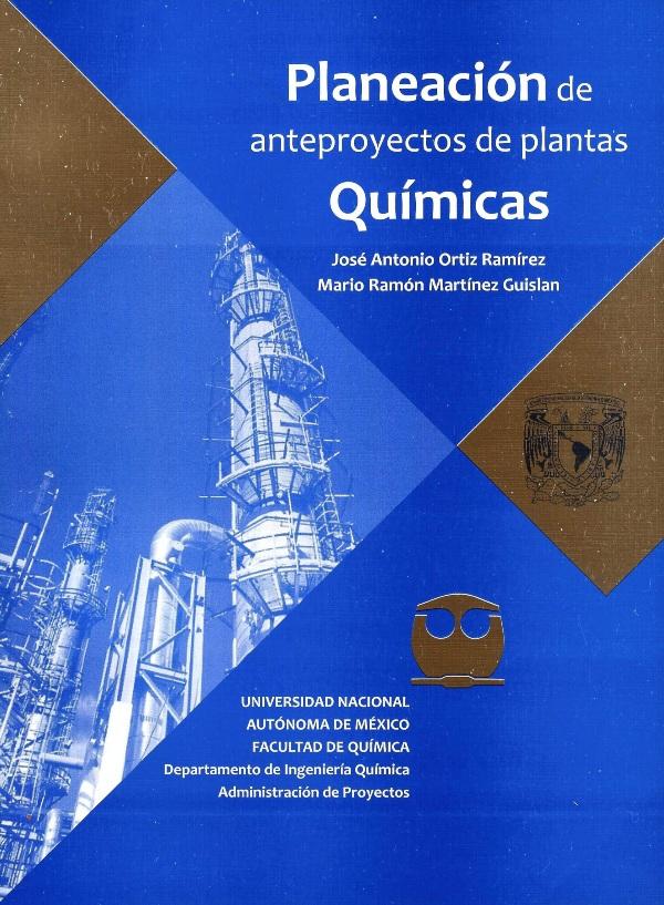 Planeación de anteproyectos de plantas químicas