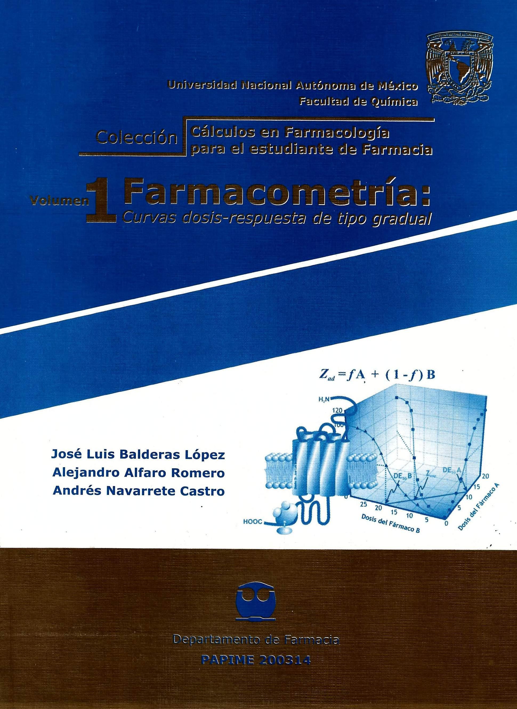 Volumen 1 Farmacometría: Curvas dosis-respuesta de tipo gradual