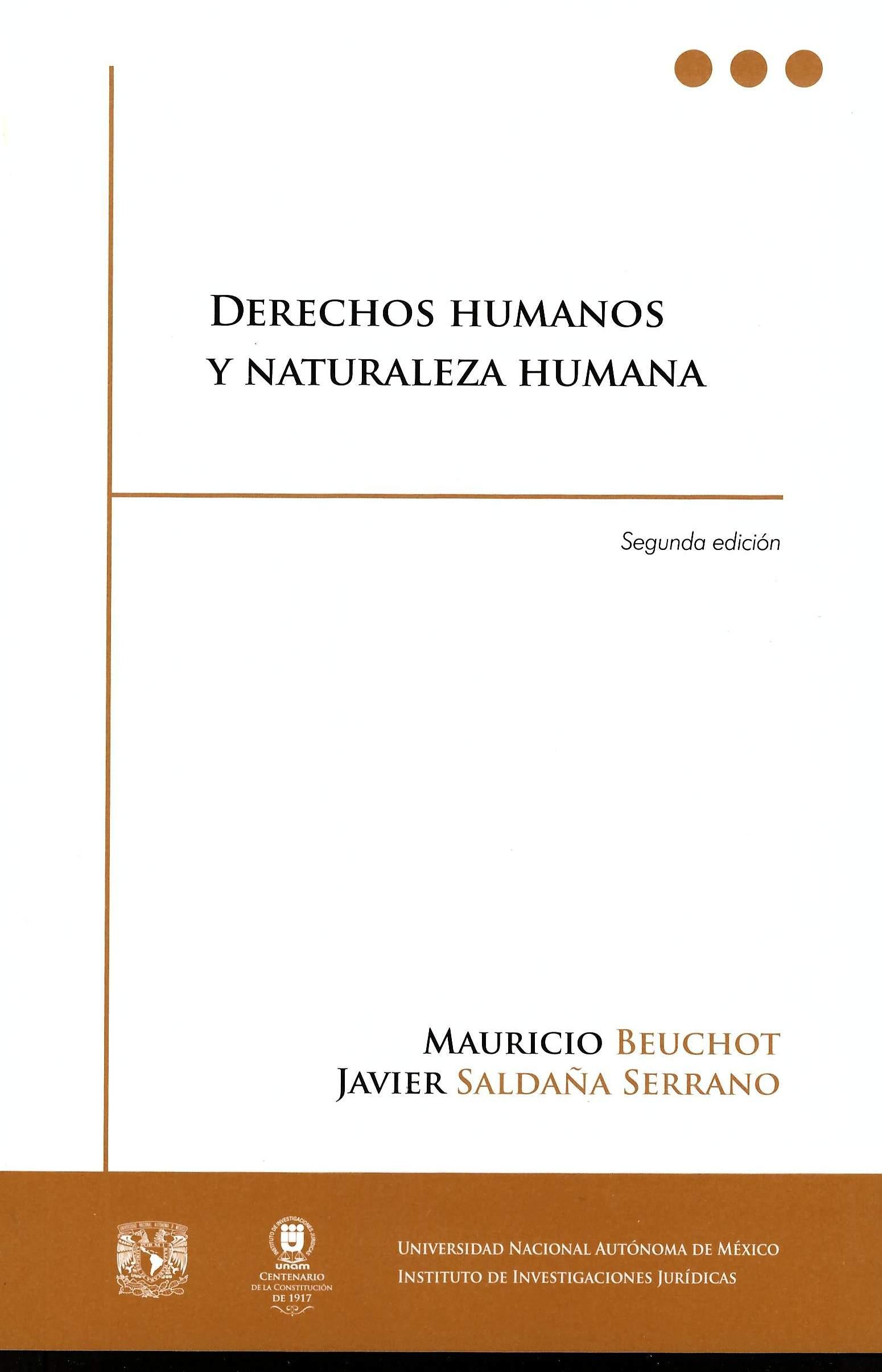 Derechos humanos y naturaleza humana