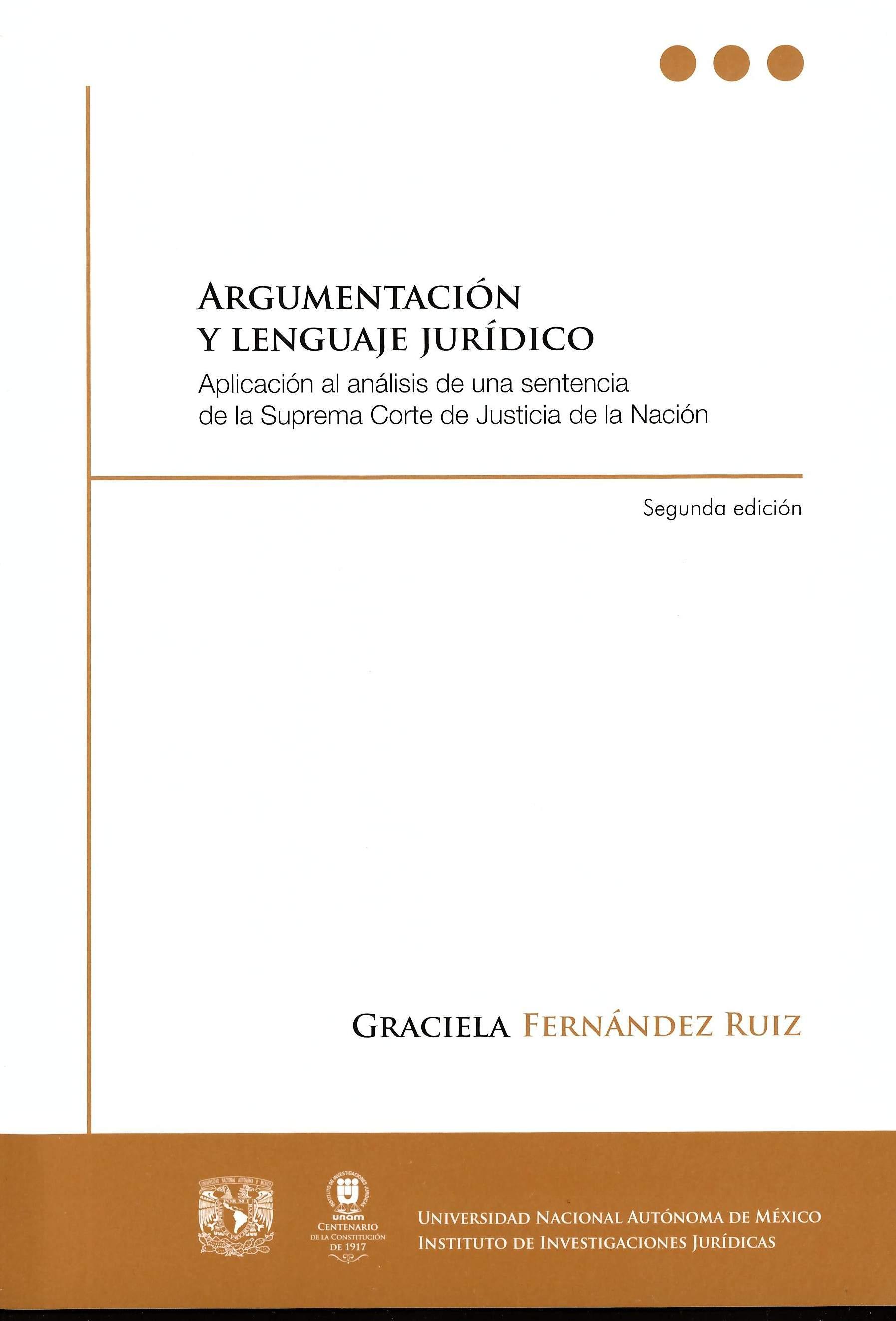 Argumentación y lenguaje jurídico