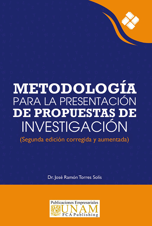 Metodología para la presentación de propuestas de investigación