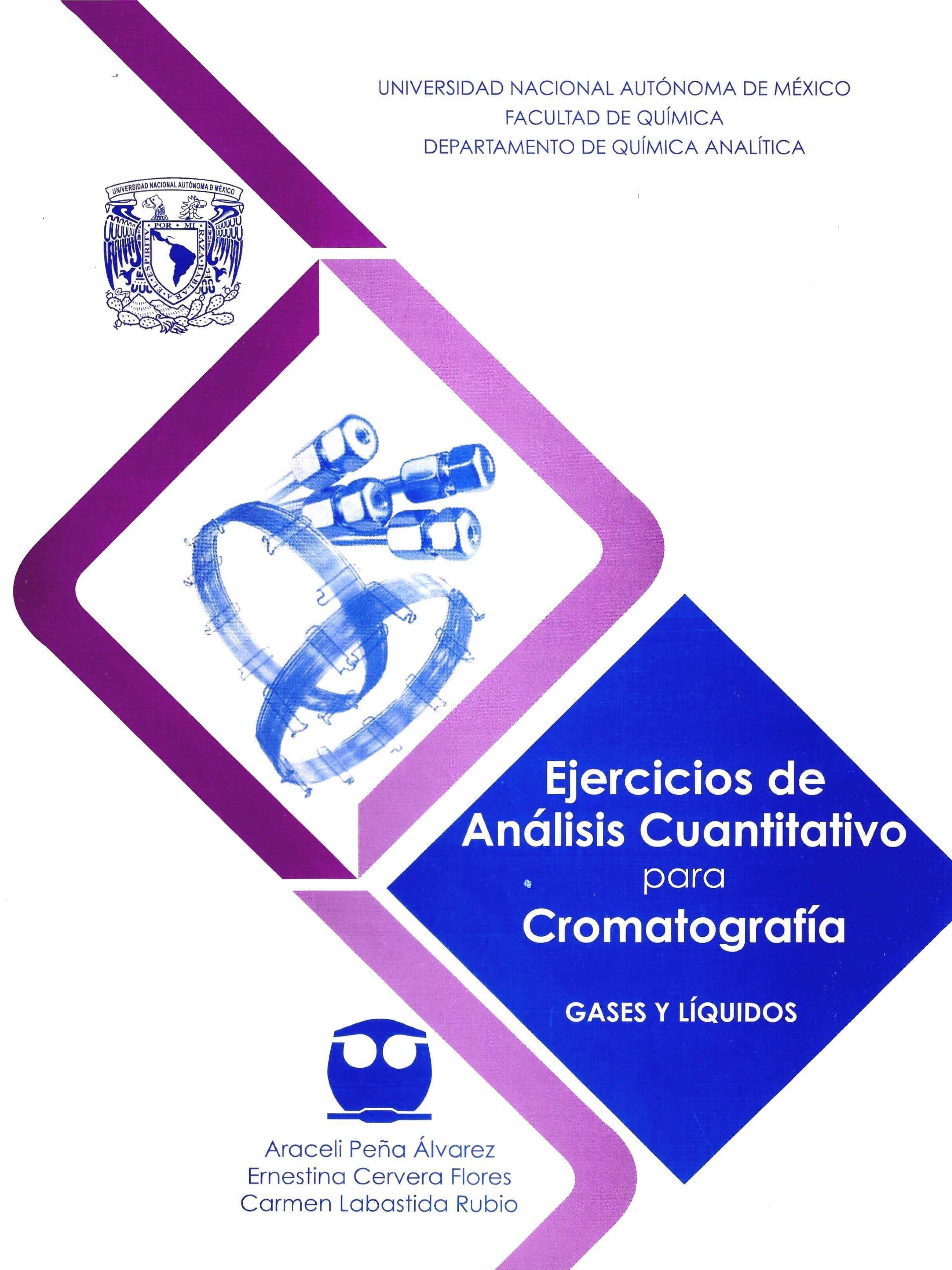 Ejercicios de Análisis Cuantitativo para Cromatografía