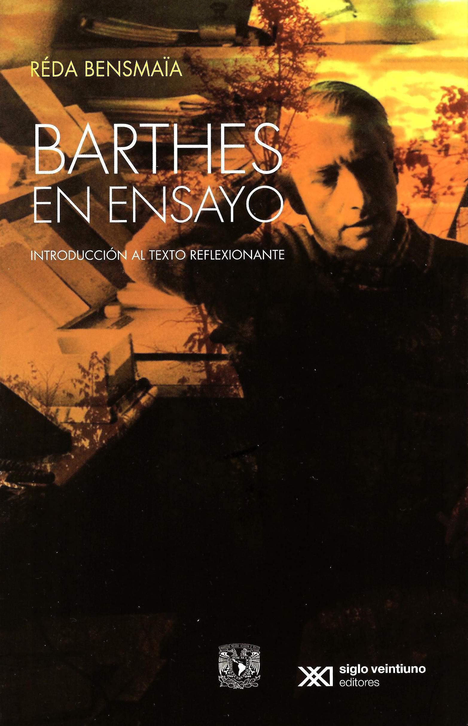 Barthes en ensayo: introducción al texto reflexionante