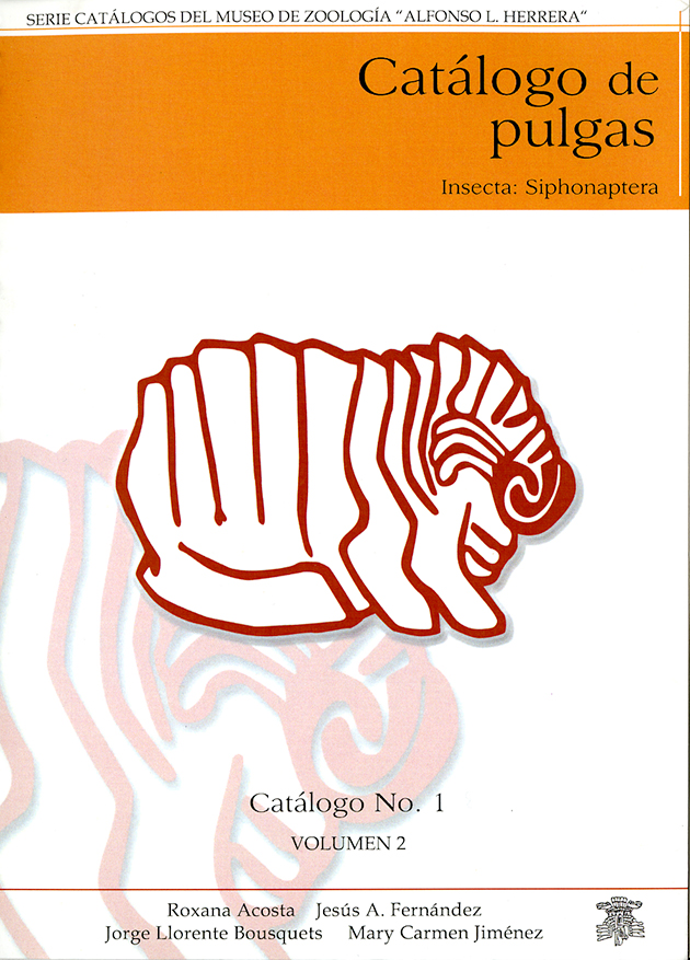 Catálogo de pulgas (Insecta: Siphonaptera) Vol. 2
