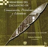 Memorias del encuentro de comunicación, periodismo y literatura