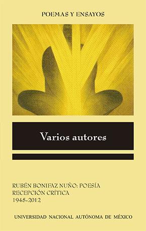 Rubén Bonifaz Nuño: Poesía