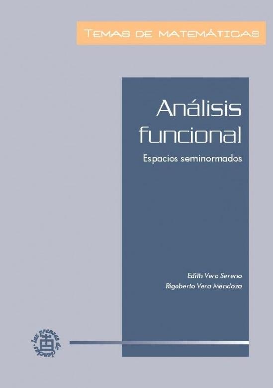 Análisis funcional: espacios seminormados