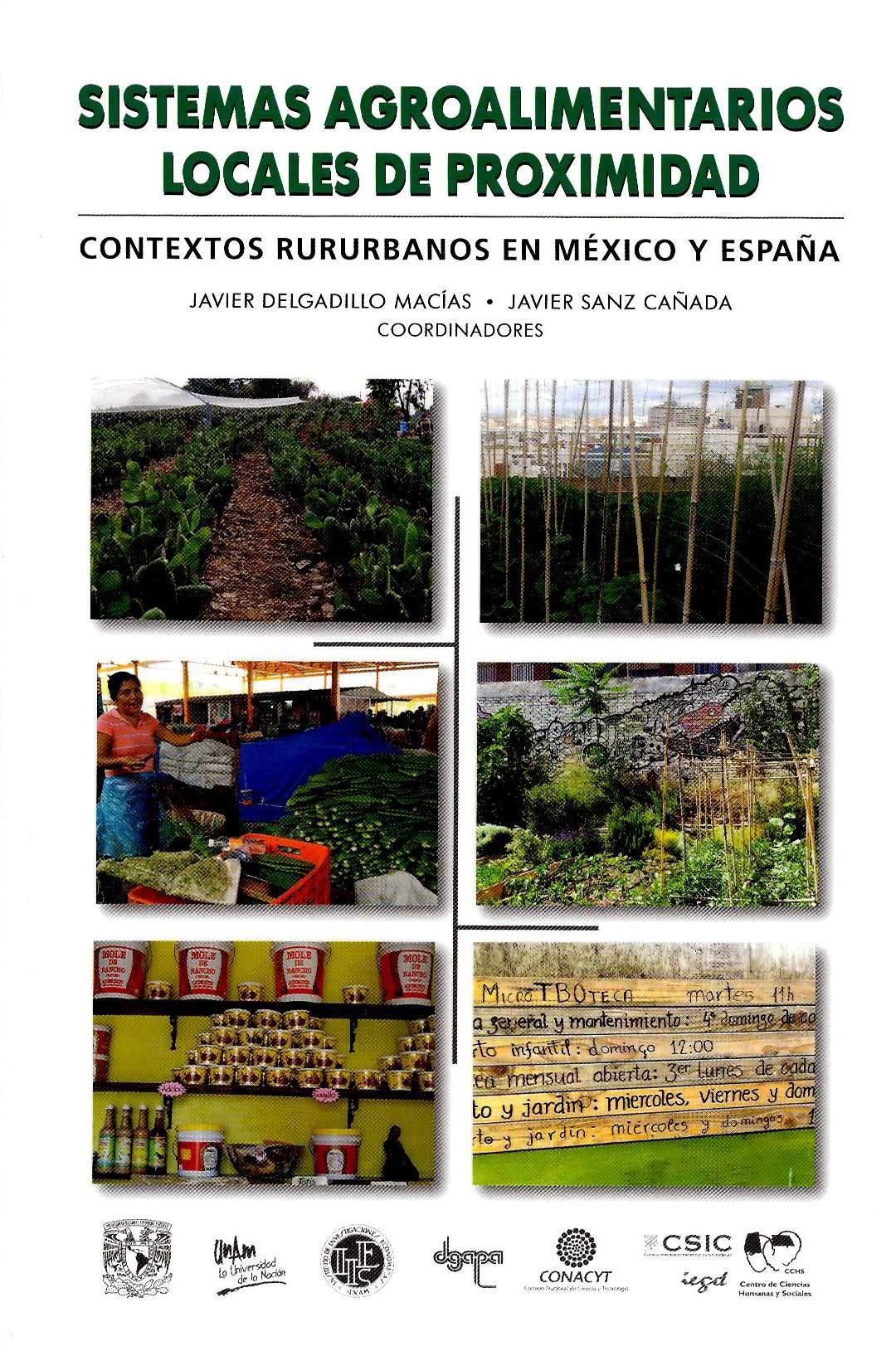 Sistemas agroalimentarios locales de proximidad: contextos rururbanos en México y España
