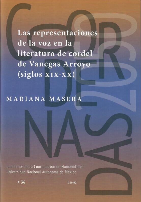 Las representaciones de la voz en la literatura de cordel de Vanegas Arroyo (siglos XIX-XX) #36