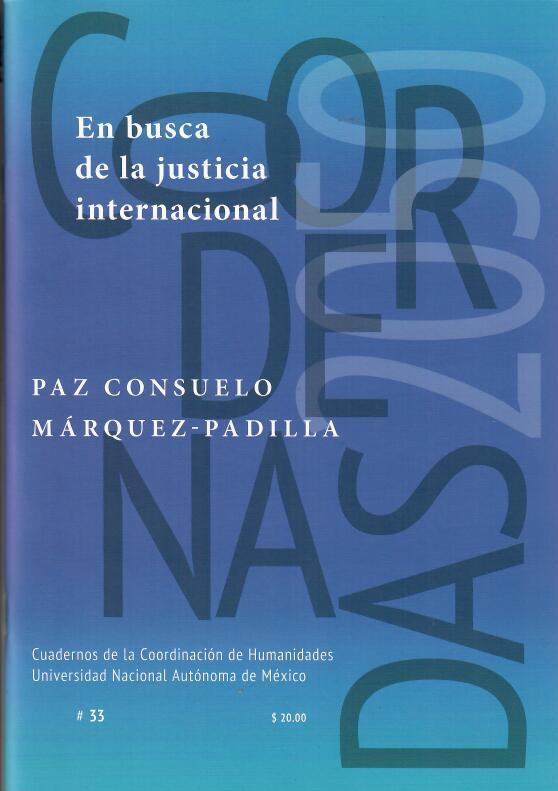 En busca de la justicia internacional #33