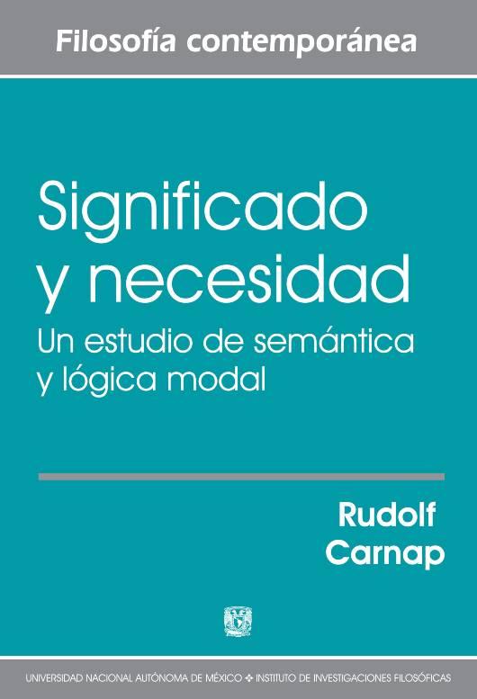 Significado y necesidad: un estudio de semántica y lógica modal