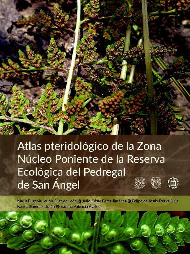 Atlas pteridológico de la Zona Núcleo Poniente de la Reserva Ecológica del Pedregal de San Ángel