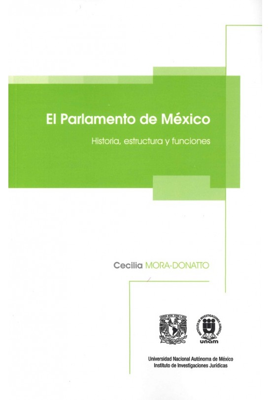 El Parlamento de México. Historia, estructura y funciones