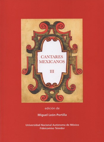 Cantares mexicanos III