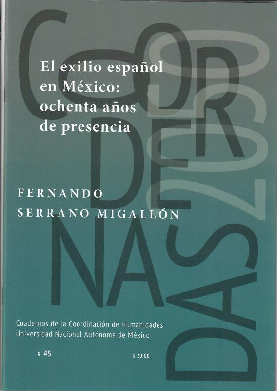 El exilio español en México: ochenta años de presencia