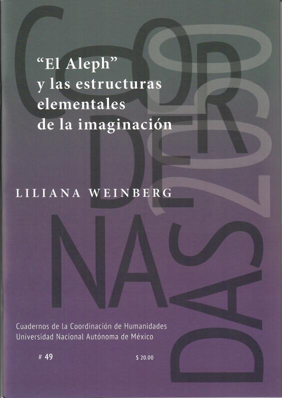 """""""El Aleph"""" y las estructuras elementales de la imaginación"""