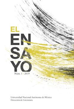 El Ensayo. Núm. 1, 2019