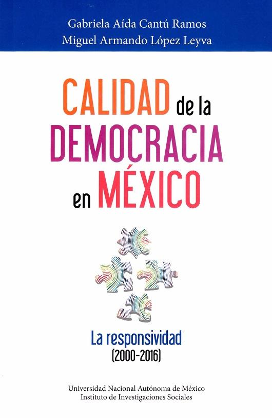 Calidad de la democracia en México. La responsividad (2000-2016)