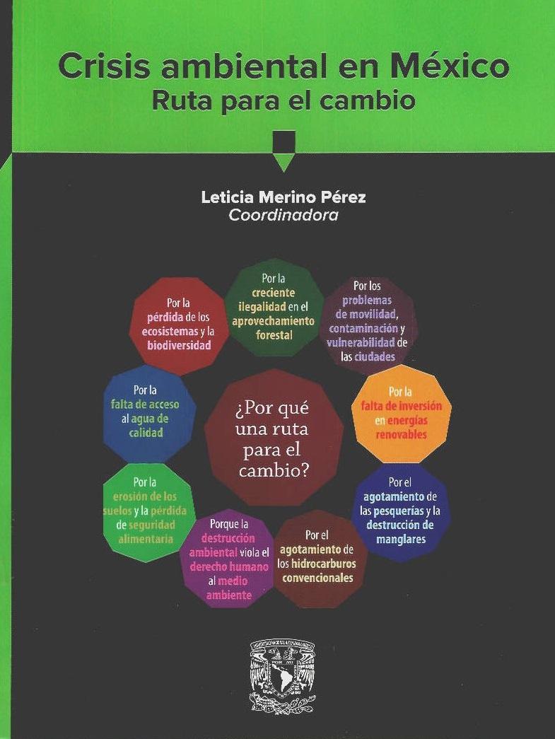 Crisis ambiental en México. Ruta para el cambio