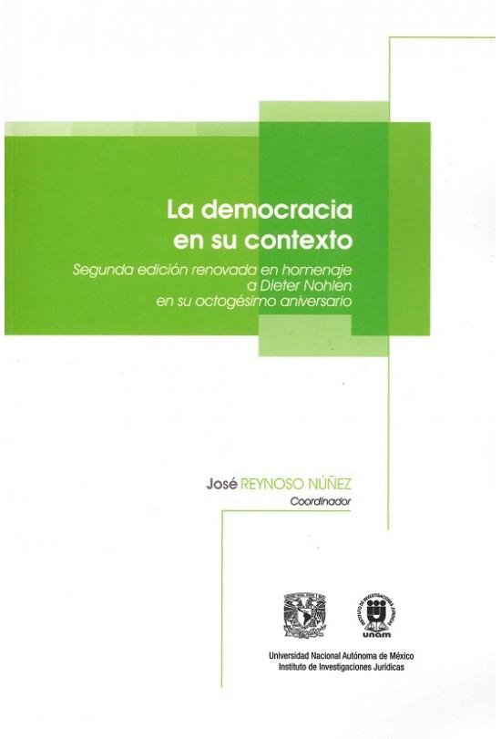 La democracia en su contexto