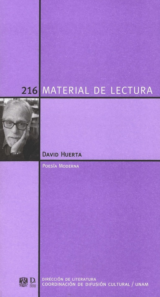 David Huerta. Poesía moderna