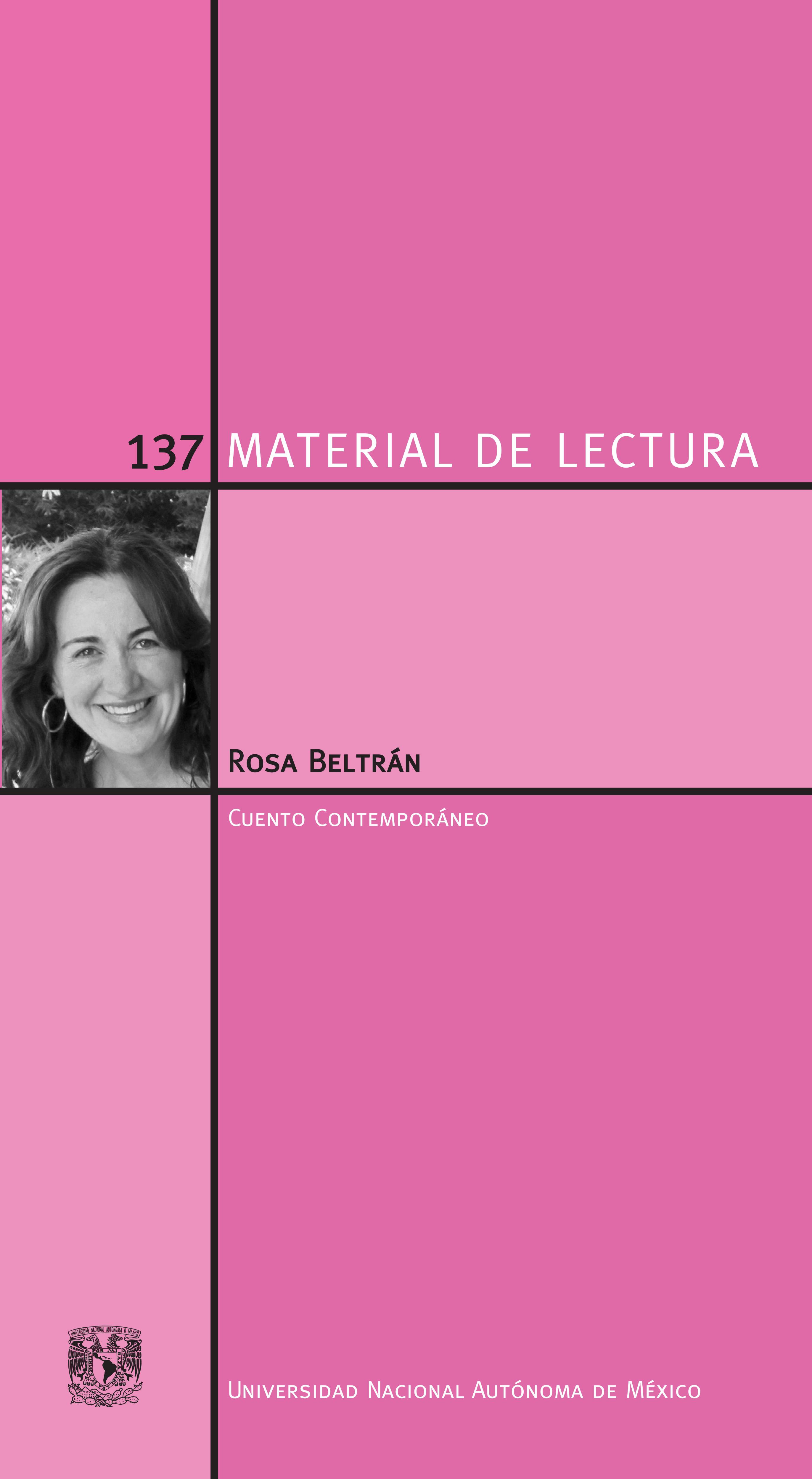 Rosa Beltrán. Material de Lectura 137